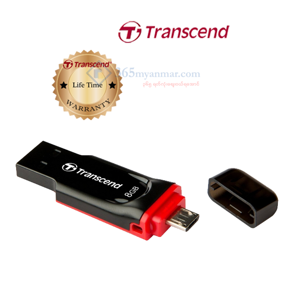 Transcend JetFlash 340 (OTG) stick 8GB