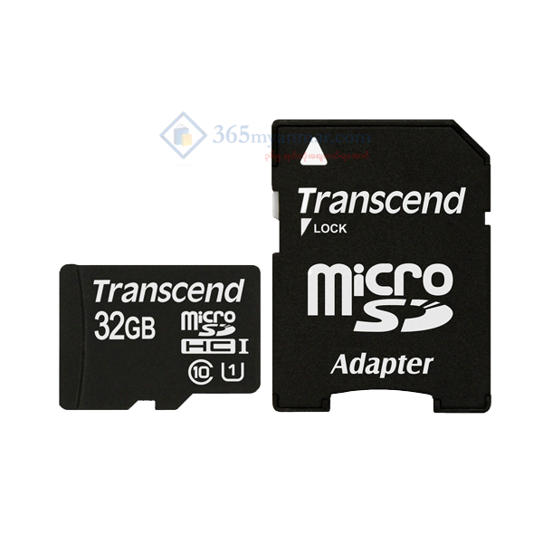 Transcend Micro SD Class 4 (32GB) (with Adapter)