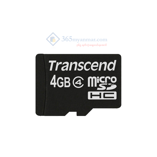 Transcend Micro SD Class 4 (4GB) (Without Adapte