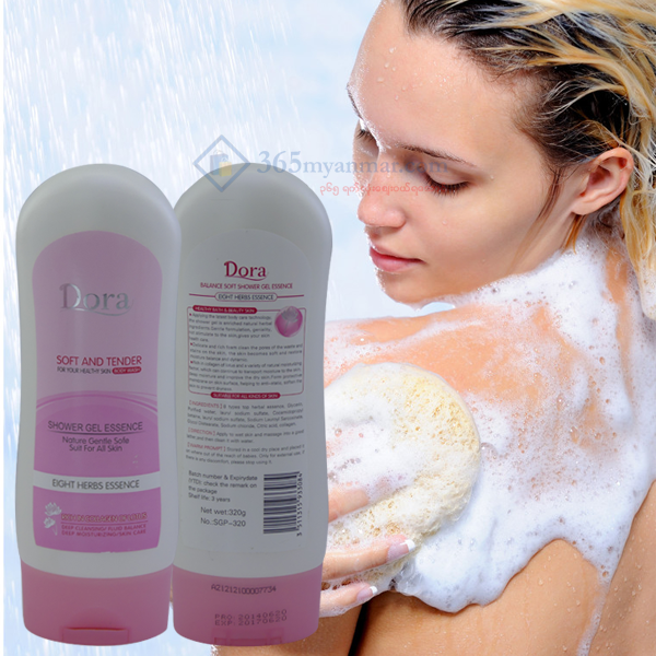 Dora Soft and Tender Body Wash 320g