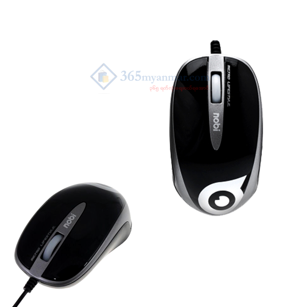 Nobi Mouse(Wired) NM52-BK