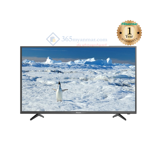 Hisense 43″LED T.V , (Digital T2+Smart  ) 43N217