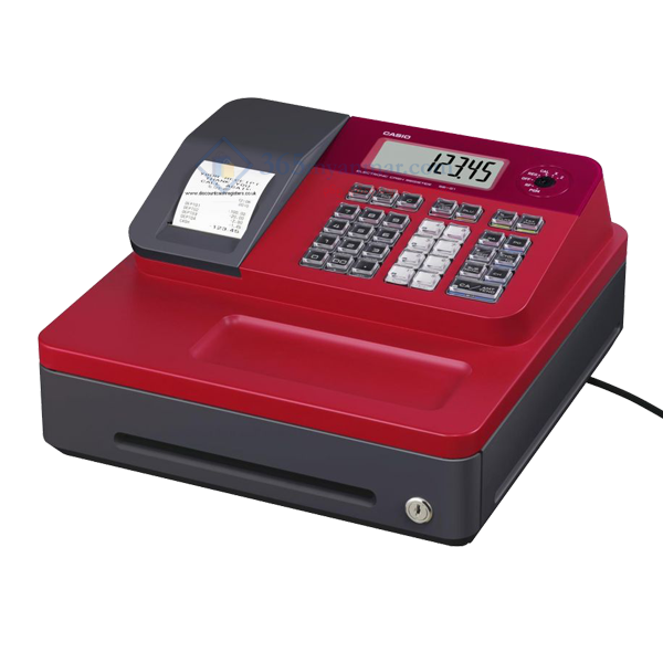CASIO Cash Register SE-G1 (Red)