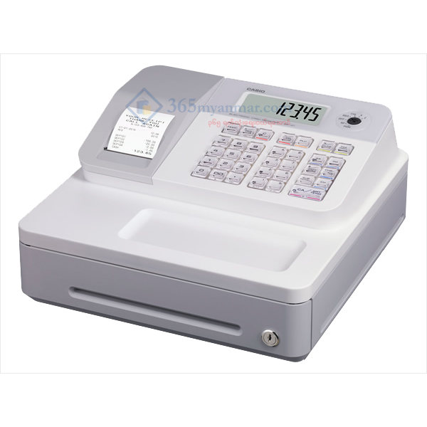 CASIO Cash Register SE-G1 (White)