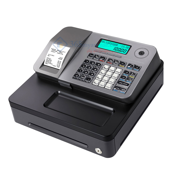 CASIO Cash Register SE-S100-S (Silver)