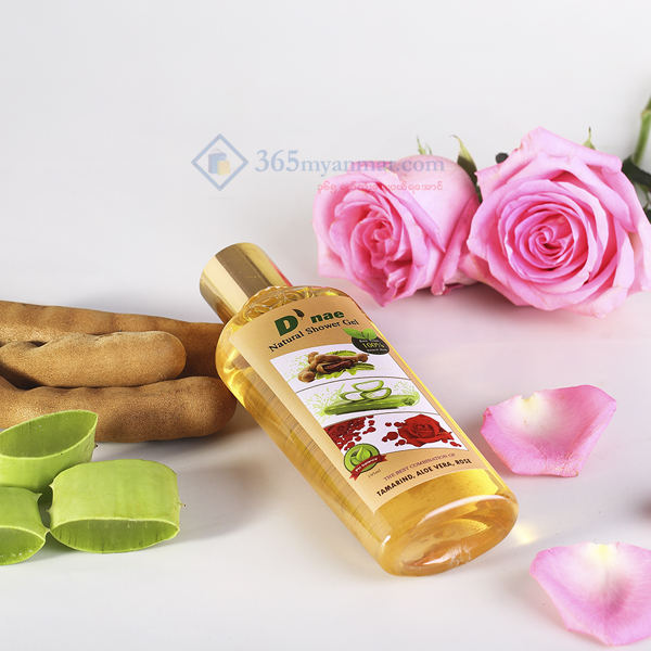D'nae Natural Shower Gel (Tamarind, Aloe Vera, R