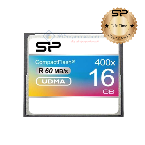 SP CF Card 400X (16GB)