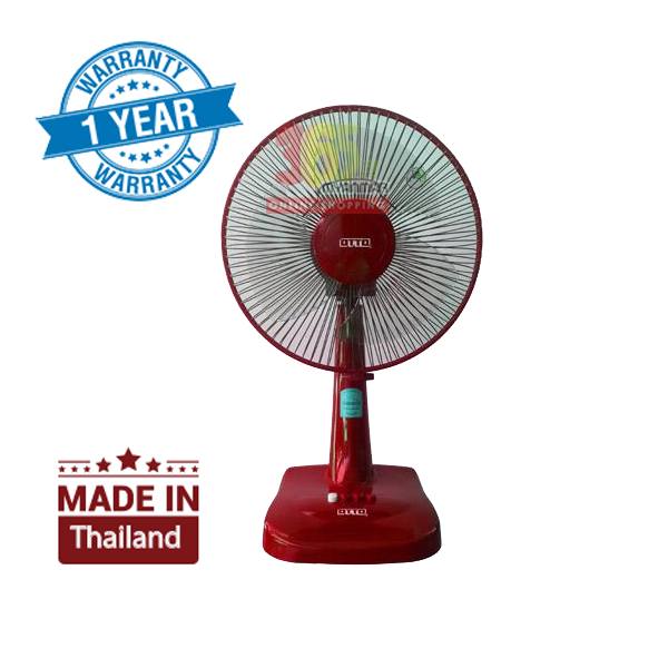 OTTO Electric Table Fan TF-12A (Red)