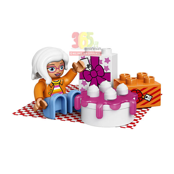 LEGO DUPLO TOWN BIRTHDAY PICNIC BUILDING TOY 19P
