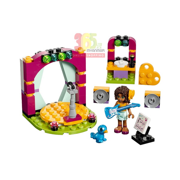 LEGO FRIENDS ANDREA`S MUSICAL DUET BUILDING TOY
