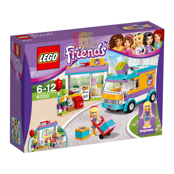 LEGO FRIENDS HEARTLAKE GIFT DELIVERY BUILDING TO