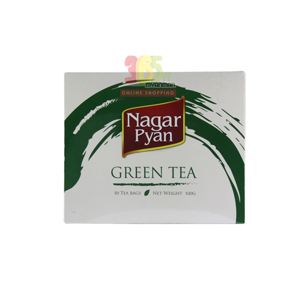 Nagar Pyan Green Tea – (50 Envelope Bags)