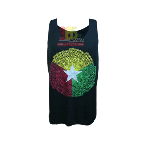 KG Mandala Tank Top for men (Small)