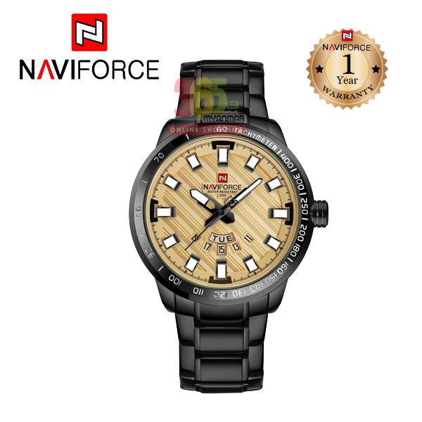 Naviforce Stainless Steel Analog Watch For Busin
