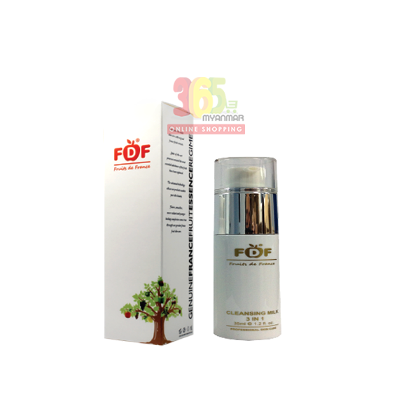 FDF Cleansing Milk 3 in 1 (FDF03A)