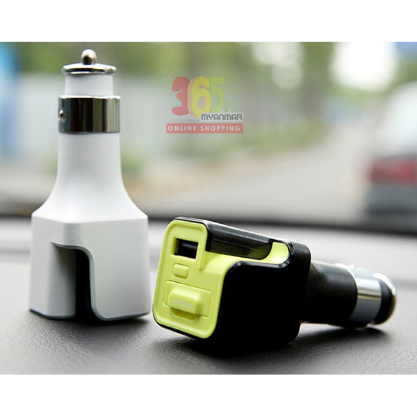 Aroma diffuser with car charger (RCC0115)(Black+
