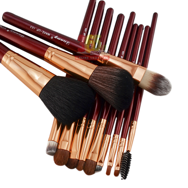 Wonder 9 eye shadow blending brushes, Profession