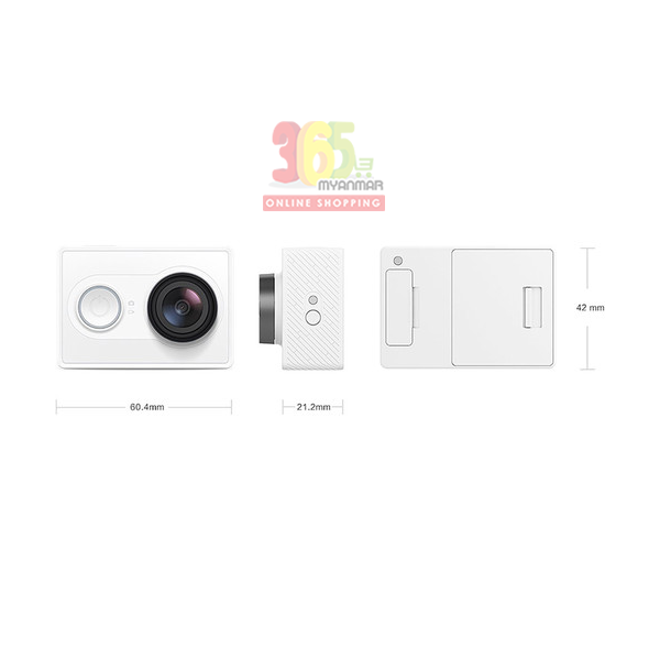 YI Action Camera 1 (88001) (White)
