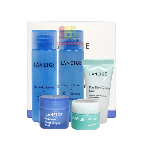 Laneige anti pollution care kit (5types)
