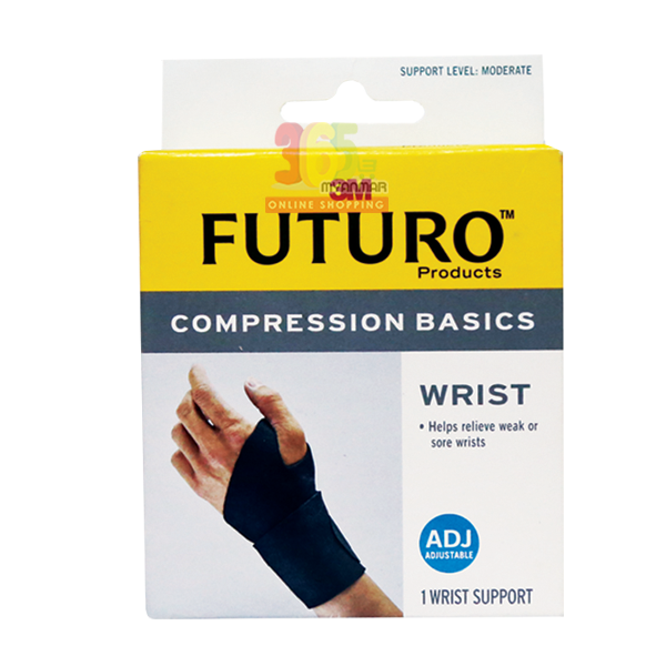 3M FUTURO SPORT COMPRESSION BASICS ADJUSTABLE WR