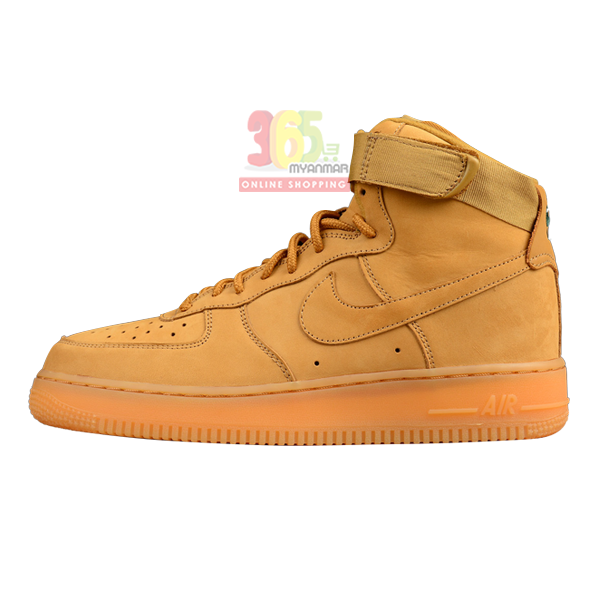 NIKE Air Force 1 Mens High Shoe Dark Brown high