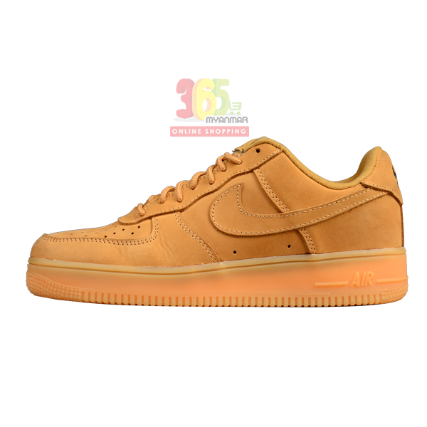 NIKE Air Force 1 Men Shoe Dark brown Low Cut Sne