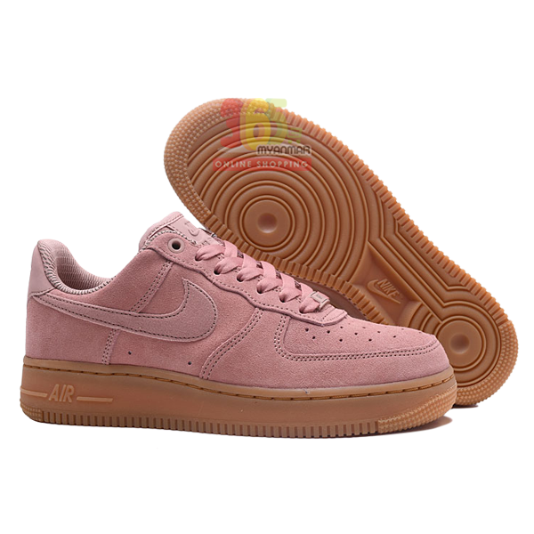 NIKE Air Force 1 Lady Sneakers Dark pink Shoe (3