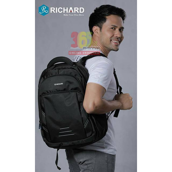 Richard Energy Backpack (Black)