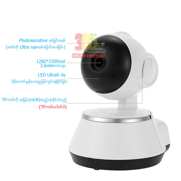 Y Duck CCTV YC12 (white)