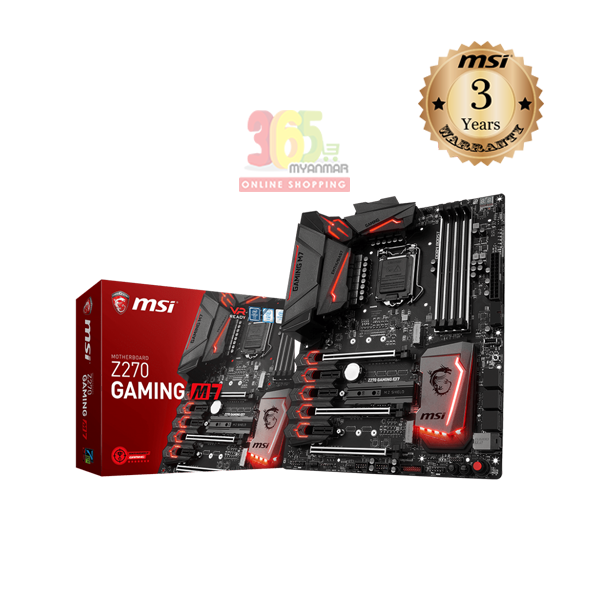 MSI Z270 Gaming M7  7th Gen, Motherboard