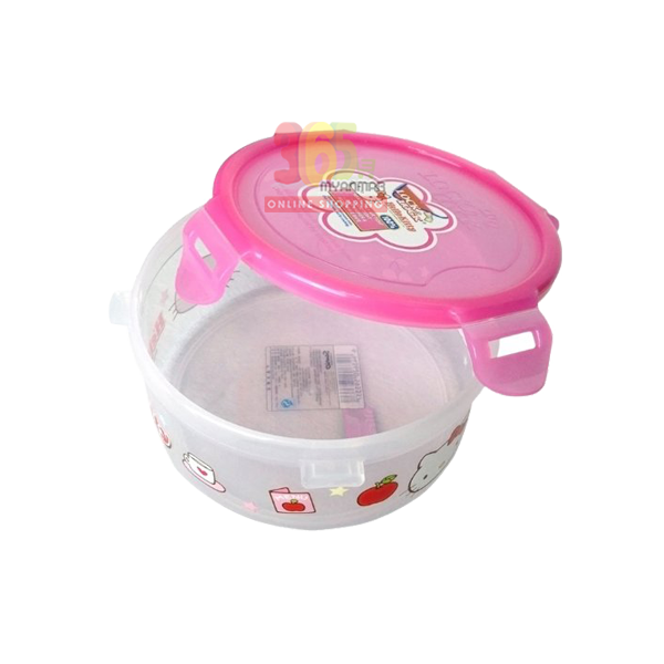 LOCK & LOCK HELLO KITTY PP STORAGE ROUND 600