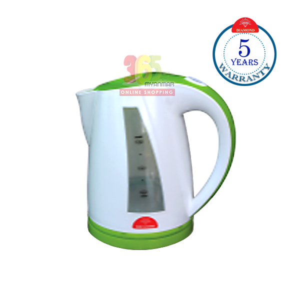 Diamond Super Fast Electric Kettle FIBER KC-AT1.