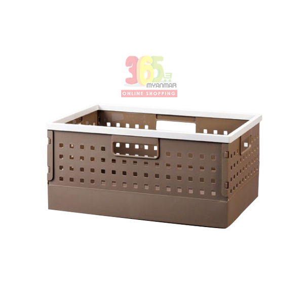 LOCK & LOCK DIY BASKET (L) (BROWN) (INP443)
