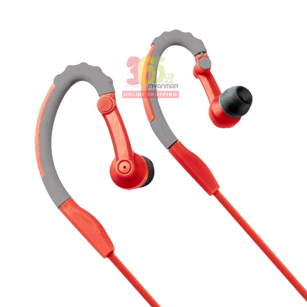 Rock Space Y6 stereo earphone (Dark grey+ red) (