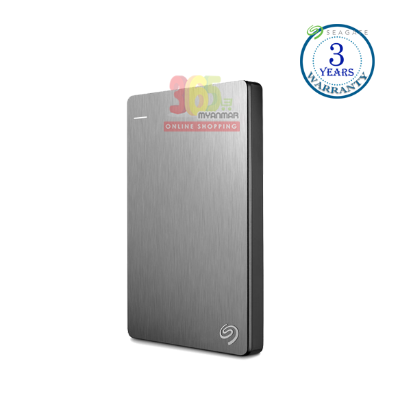 Seagate Backup Plus 1TB, (Silver), External HDD,