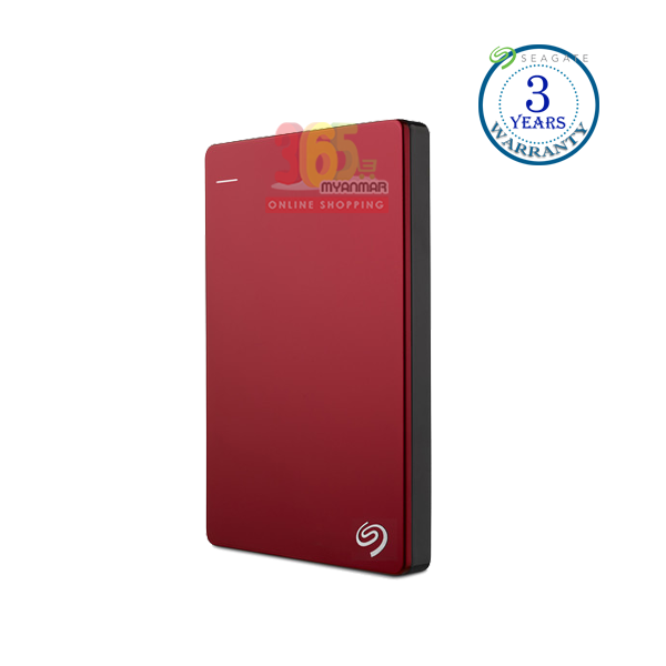 Seagate Backup Plus 1TB, (Red), External HDD, Ha
