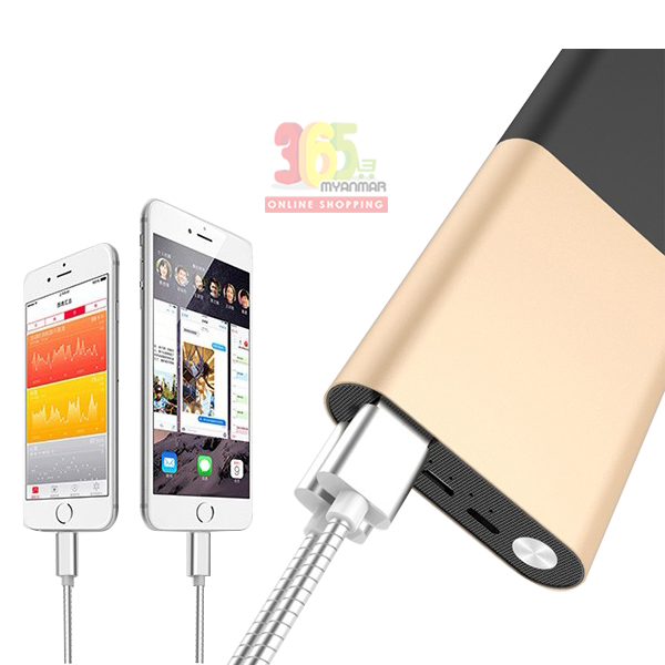 Golf powerbank G27 (10000 mAh) Silver