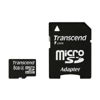 Transcend Micro SD Class 4 (8GB) (with Adapter)