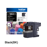 Brother LC-563BK Black Ink Cartridge