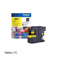 Brother LC-563Y Yellow Ink Cartridge