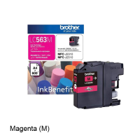 Brother LC-563M Magenta Ink Cartridge