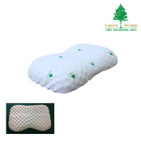 Green World Heart Knobby, Pillow (Code - PHK)