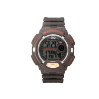Q&Q Digital Grey Dial Men Watch - M132J003Y