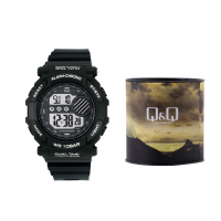 Q&Q Digital Watch-M136J002Y