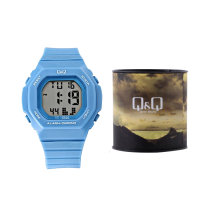 Q&Q for Women - Digital M137J004Y Resin Watc