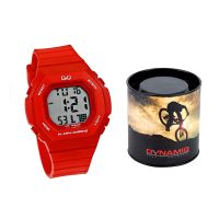 Q&Q M137J005Y Watch Red