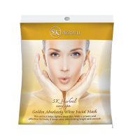 SK Herbal Golden Absolutely white facial Mask, မ