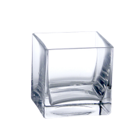 "Realon FP004 10""x10"" Glass Flower Pot"