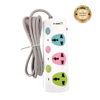 Power Plus Extension PP300I (3 Pin / 3 Ports)