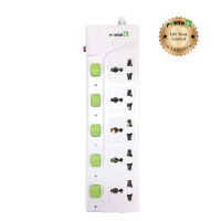 Power Plus Extension PP500I (3 Pin / 5 way) Gree